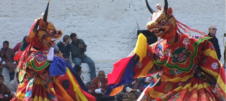 Фестиваль в Бутане