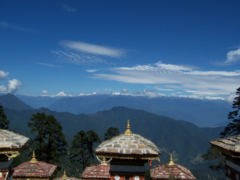 Перевал Дочула Бутан