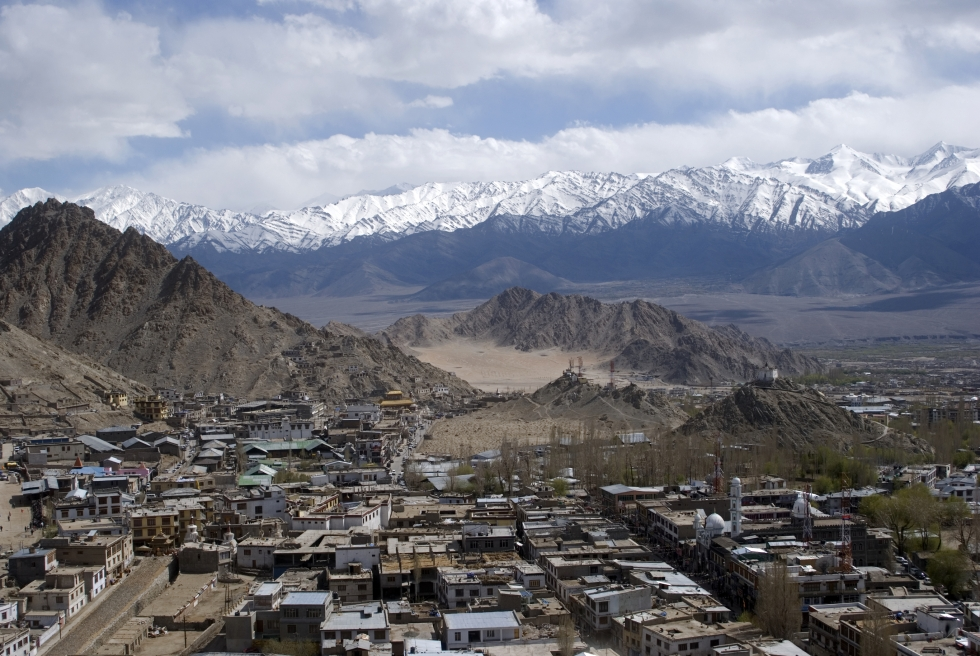 Лех Ладакх путешествие в Гималаи