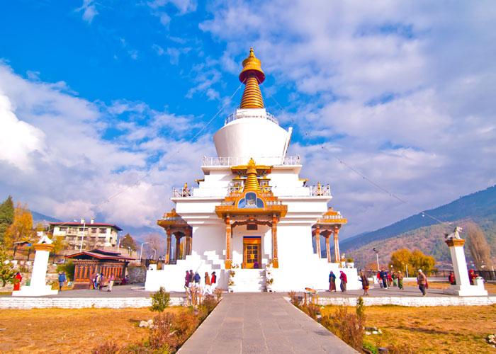 Национальная Ступа Бутана в Тимпху