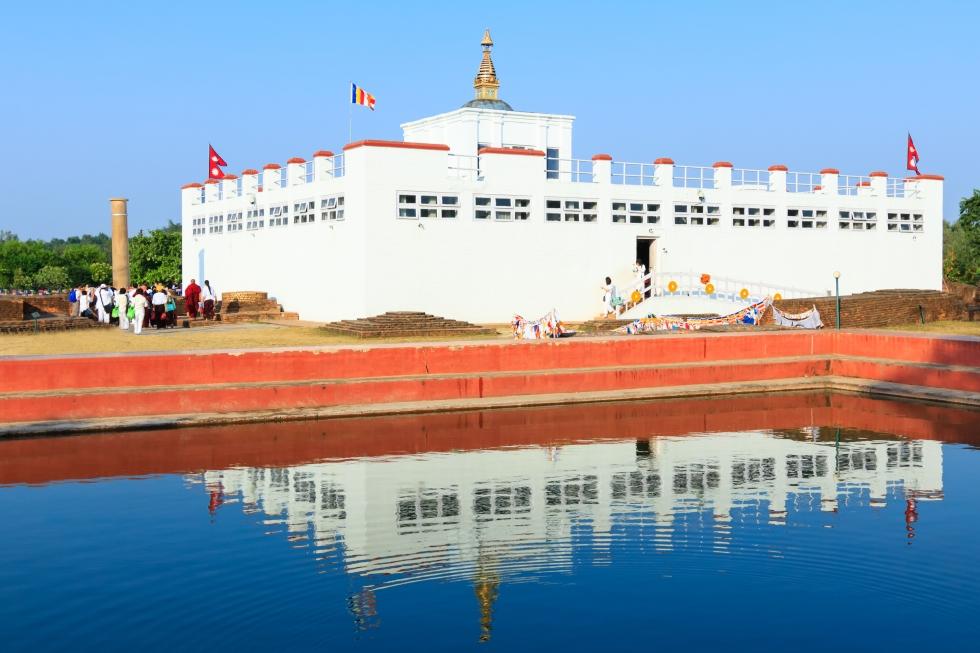 Деревня Лумбини место рождения Будды Шакьямуни